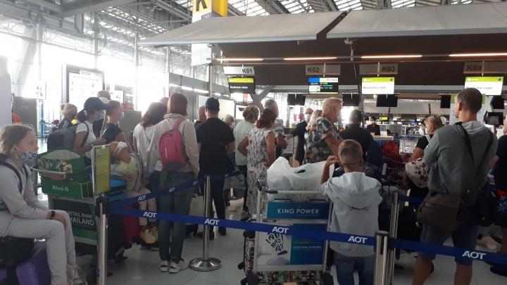 Постоянно приходят сообщения о задержке: пассажиры рейса Бангкок — Новосибирск застряли в Таиланде