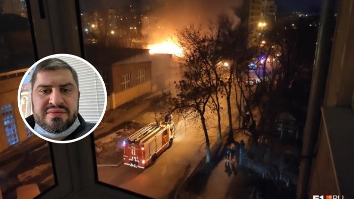«Для нас это, наоборот, сплошные проблемы»: застройщик — о пожаре на Омской, где погибли восемь человек