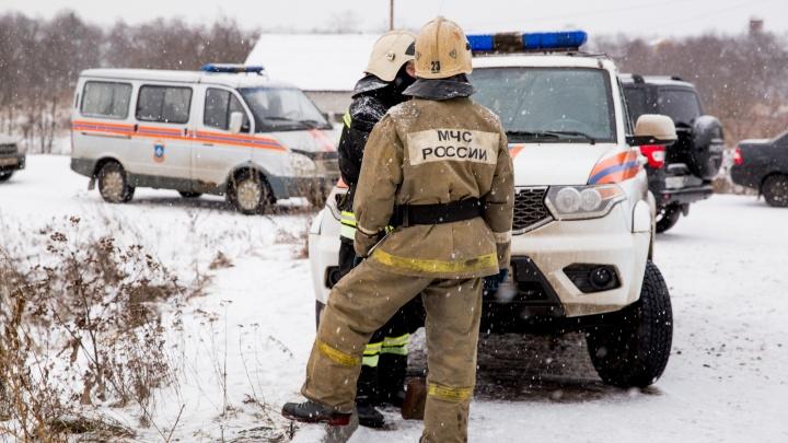 В Ярославле жителей шестиэтажного дома эвакуировали из-за ночного пожара