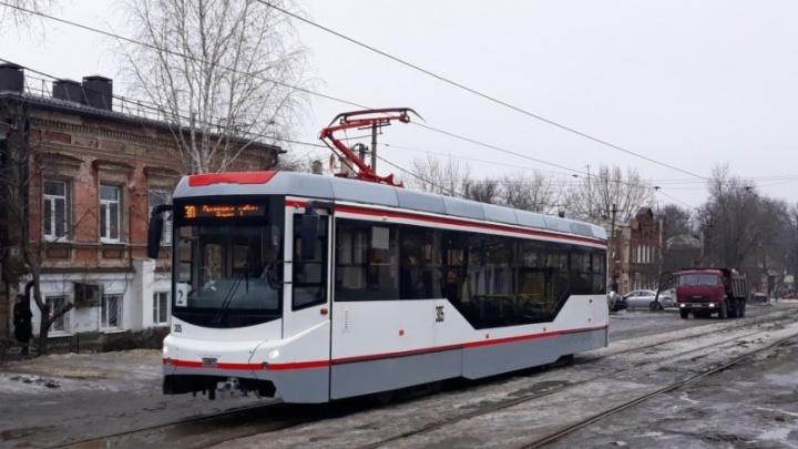 Трамвайное движение в Новочеркасске полностью восстановят в апреле