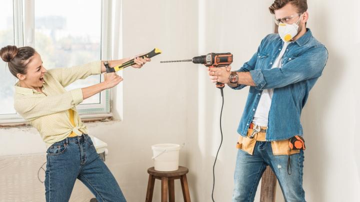 Что делают новосибирцы на самоизоляции: многие закупаются к ремонту и меняют планировку, пока это дешево