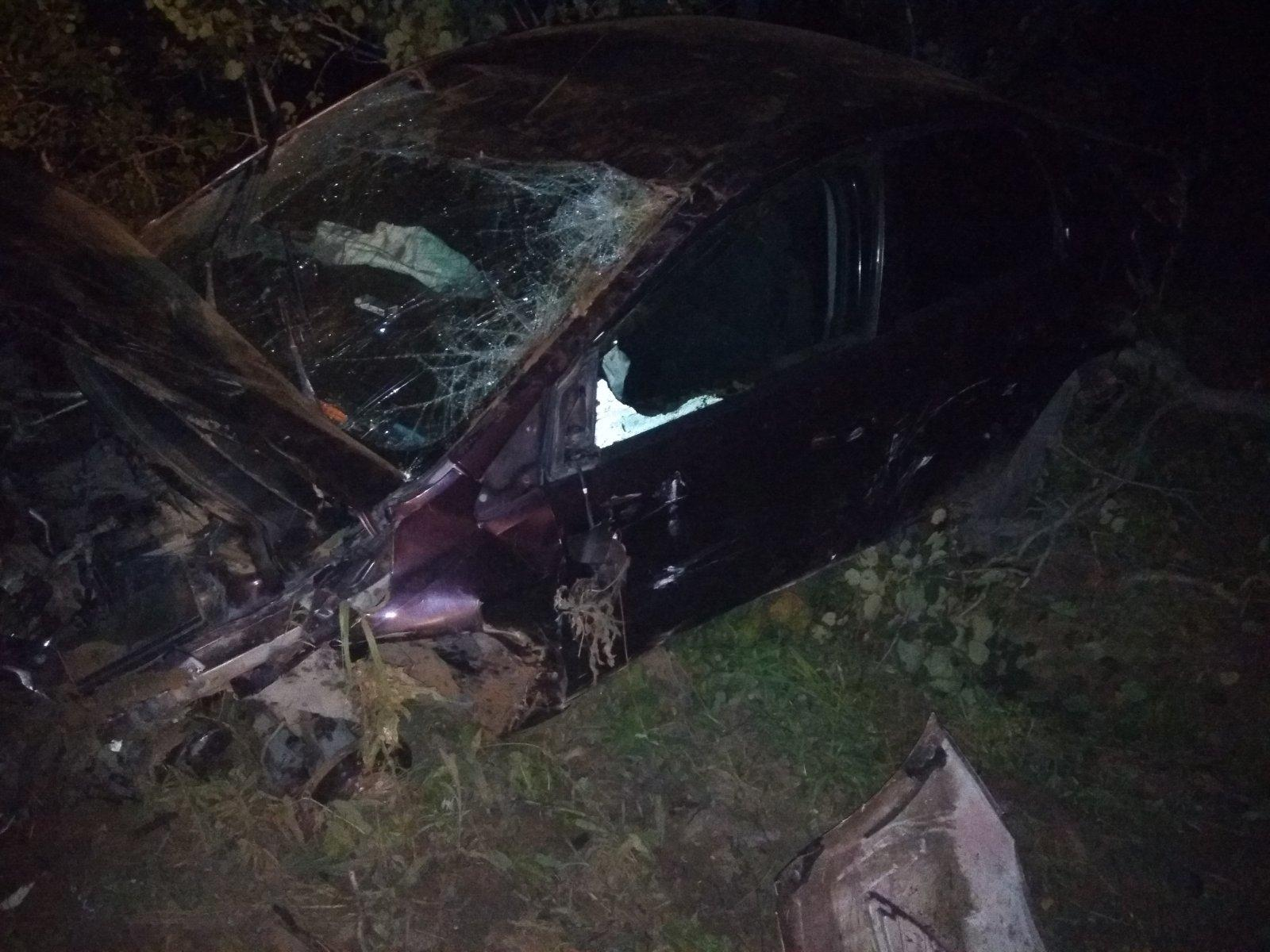 ПассажираFord Focus с травмами увезли в больницу