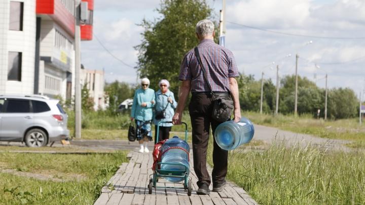 9 октября жителям Архангельска будут привозить бесплатную воду: вот график подвоза