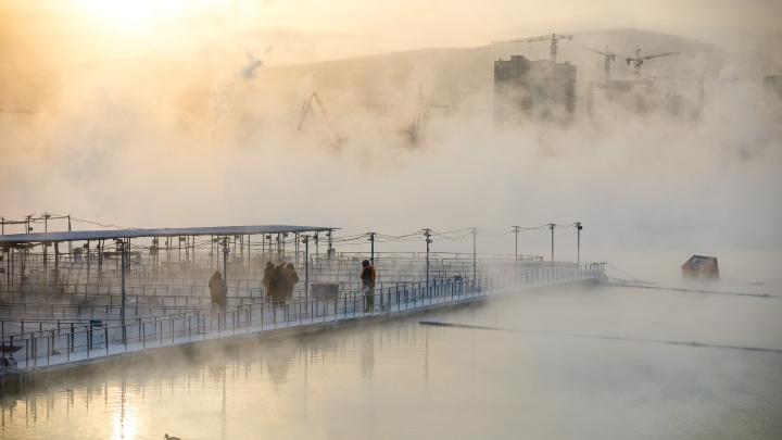 Морозные ночи вернутся в Красноярск в конце новой рабочей недели