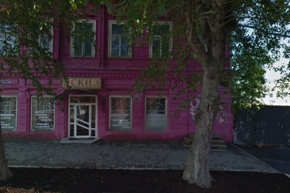 В доме купца Матвеева несколько лет размещался магазин «Эскиз»