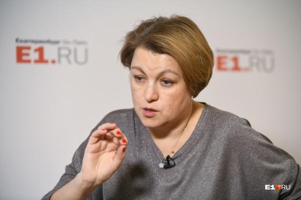 Екатерина Сибирцева теперькурирует всю социальную политику Екатеринбурга