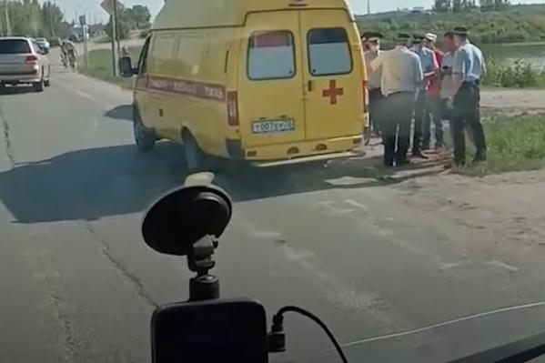 Авария с участием несовершеннолетнего произошла днем в среду, 8 июля