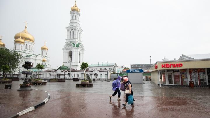 Ростовские спасатели ответили, сколько еще будет идти ливень
