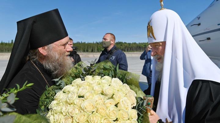 На Соловецкий форум прибыл патриарх Кирилл. Мероприятие обошлось Поморью в 8,6 миллиона рублей