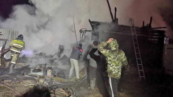 «Шанса спастись у них не было»: очевидцы рассказали, как тушили пожар в Башкирии, где погибли 11 человек