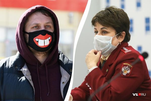 Надел маску - заслужил одобрение от главного санитарного врача