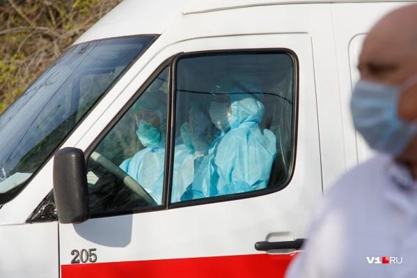 В Волгоградской области уже 2002 пациента