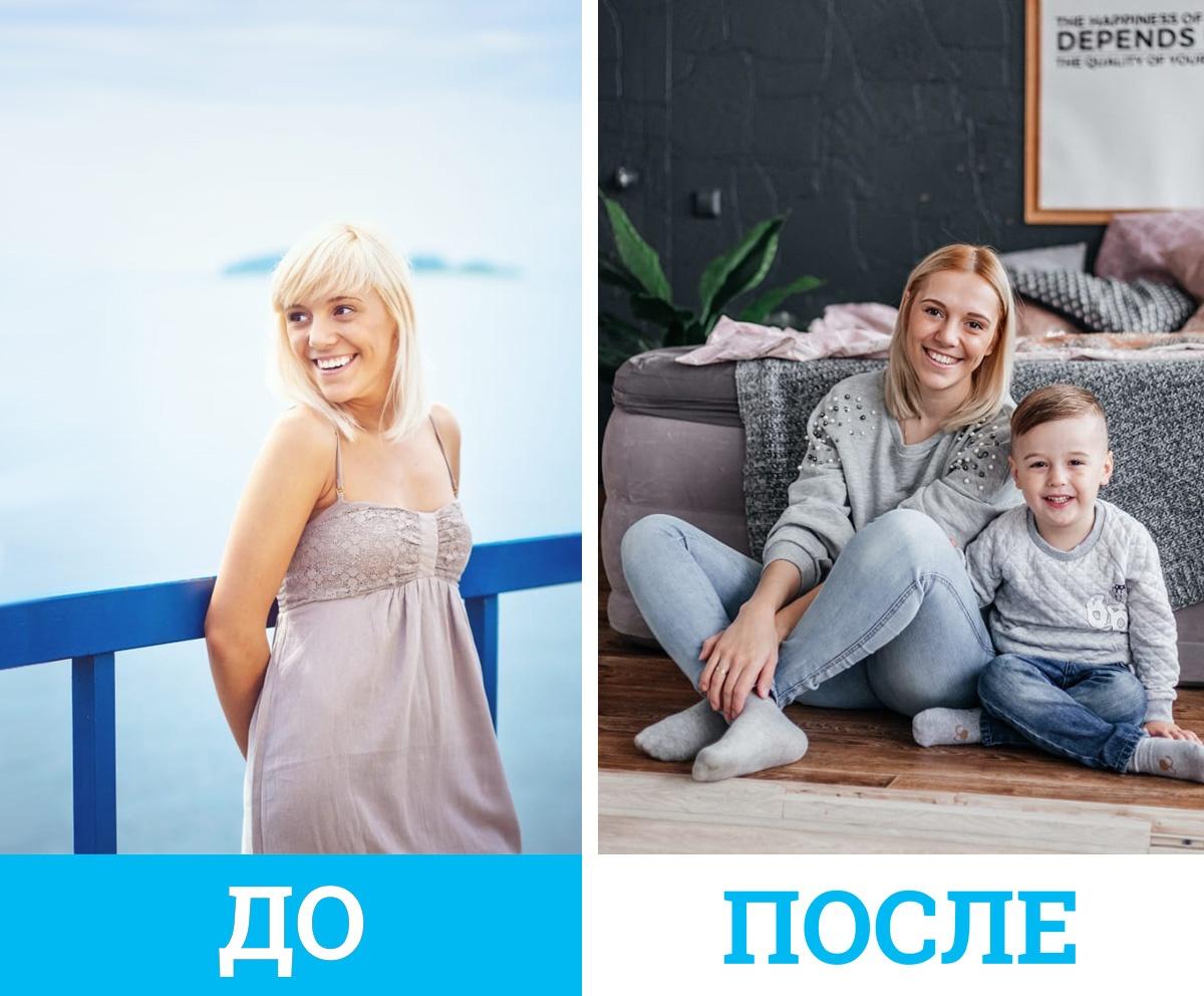 Юлия говорит, что после родов стала гораздо выносливее
