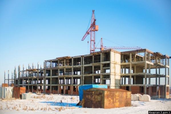 Строительство жилого комплекса начали еще семь лет назад