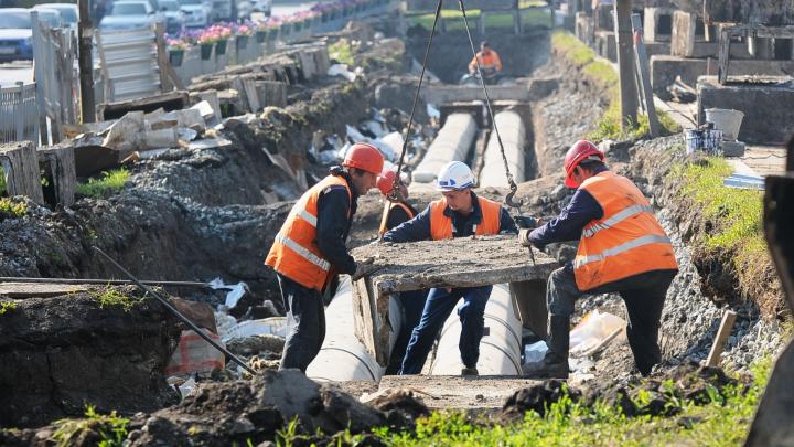 Энергетики перекроют две улицы Екатеринбурга, чтобы отремонтировать тепломагистраль