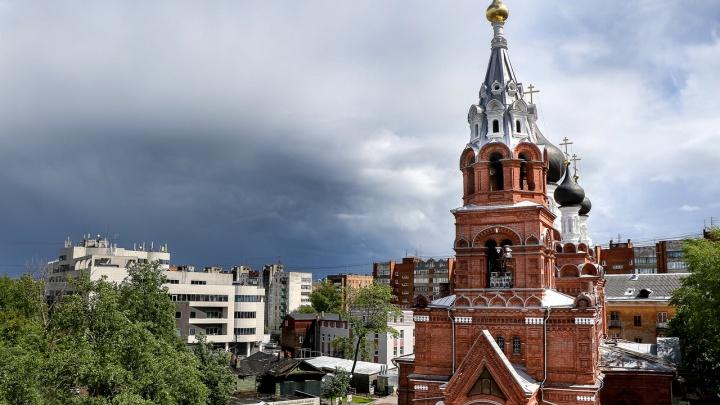 МЧС: сегодня в Нижегородской области ожидаются грозы, ливни, град и ветер