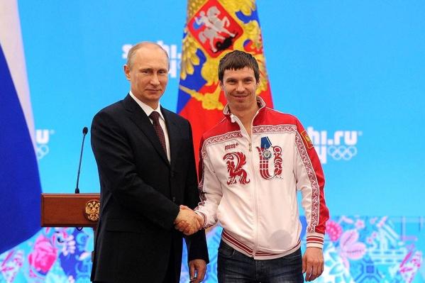 Евгений Устюгов — двукратный олимпийский чемпион по биатлону