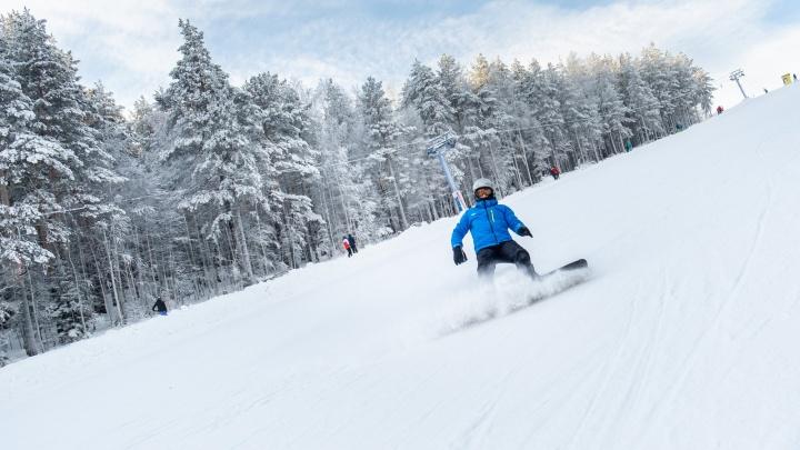 Битва на досках: уральские сноубордисты устроили челлендж на склонах — что из этого вышло