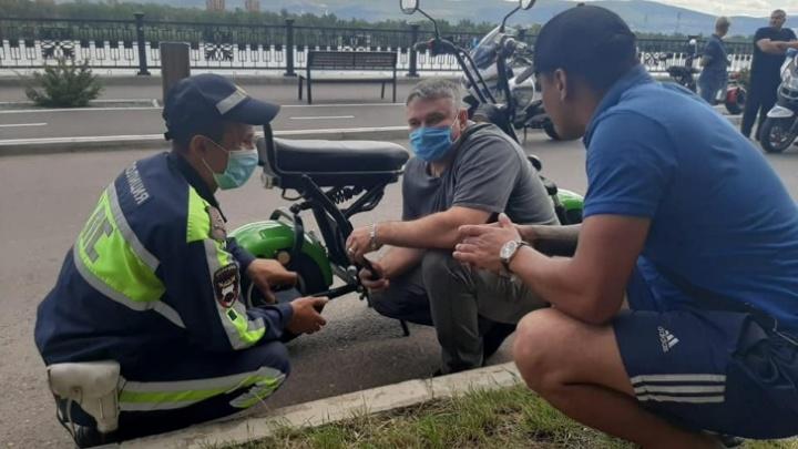 ГИБДД нашла парня на скутере, который сбил ребенка на набережной