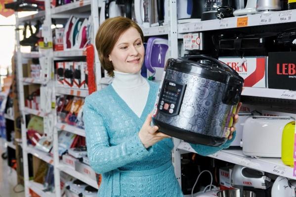 Такую мультиварку, как и сотни других товаров, можно приобрести всего за один рубль