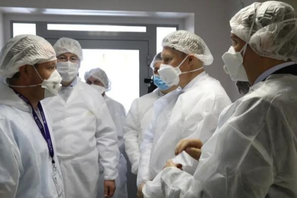 Министр здравоохранения посетил в АрхангельскеПервую городскую и Архангельскую областную клинические больницы
