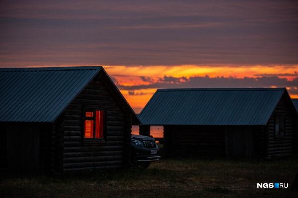 Необычная база отдыха находится в 400 километрах от Новосибирска