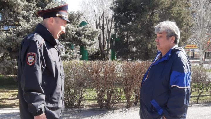 Полиция следит за изолированными волгоградцами: в режиме самоизоляции по коронавирусу больше двух тысяч человек