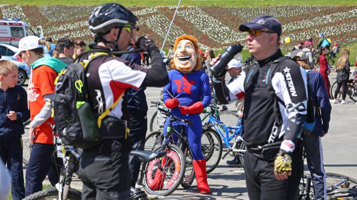 В Уфе отменили десятый «День 1000 велосипедистов»