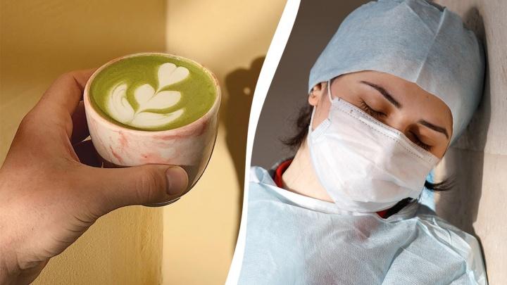 «Все, что мы можем, — взбодрить вас»: в кофейне Волгограда врачей угощают бесплатным капучино