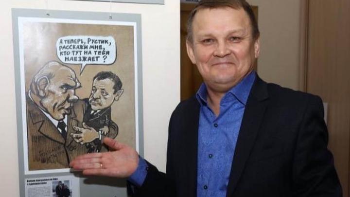 В Уфе знаменитый карикатурист Камиль Бузыкаев попал в реанимацию