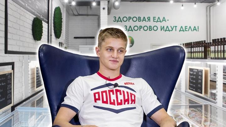 Гимнаст-олимпиец вложил деньги в бизнес тестя: они начали торговать замороженным мясом в Новосибирске