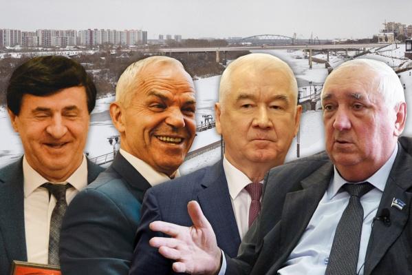 В Тюменской области не так много чиновников в возрасте 65+, но все они до сих пор бодры и энергичны