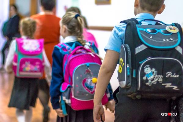 Дети не посещали школы с марта