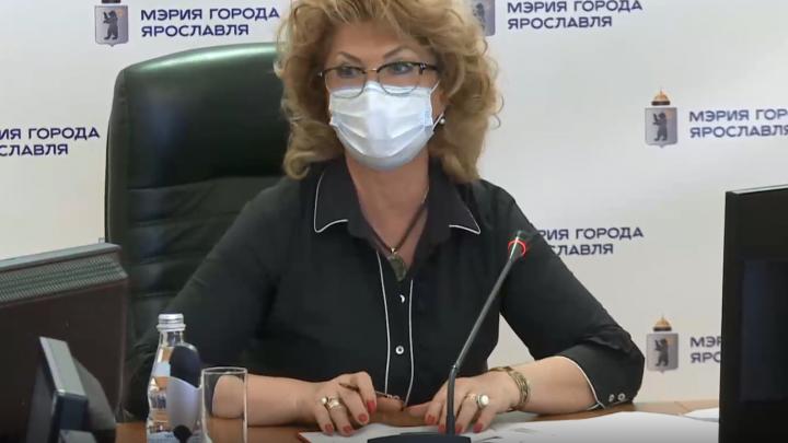 Мэр Ярославля не пришёл на еженедельную планёрку: его место заняла заместитель