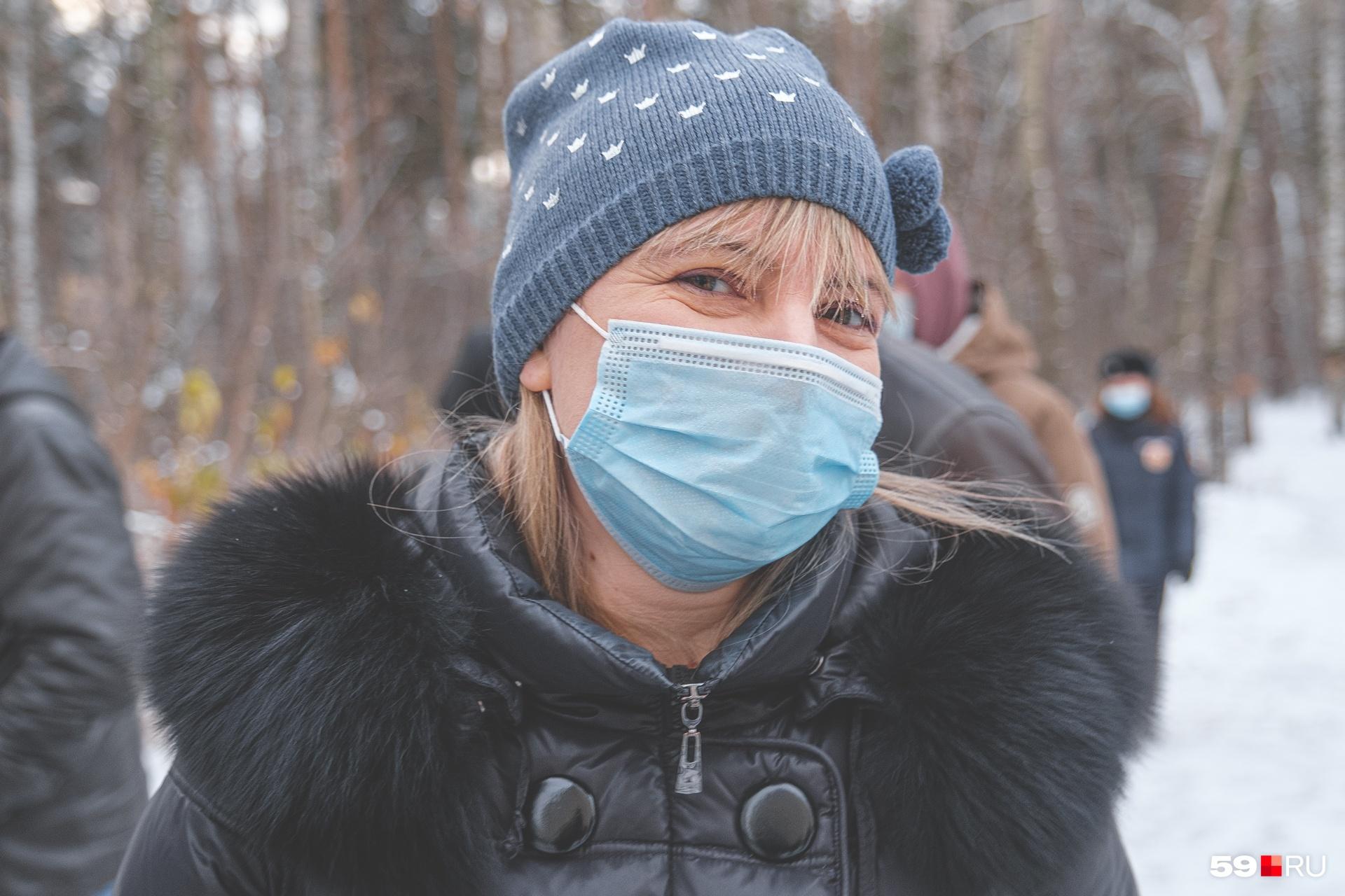 Мария Омелюсик говорит, что жители будут отстаивать участок