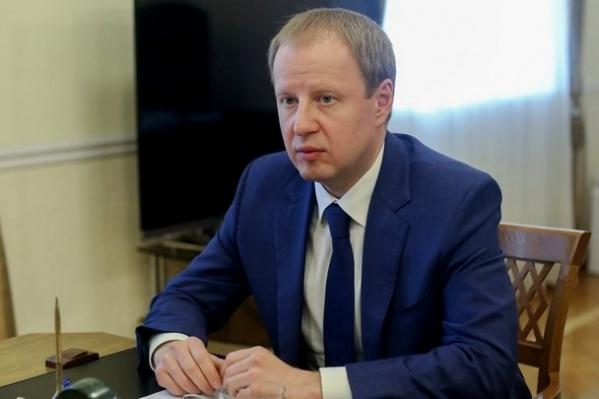 Губернатора Алтайского края положили в стационар