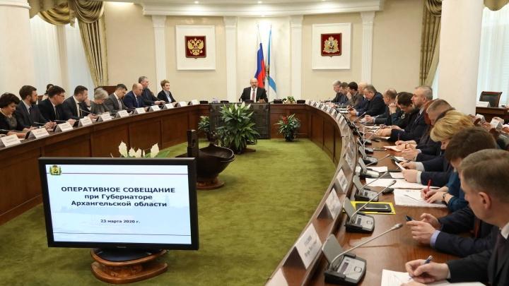 Игорь Орлов предложил не менять бюджет Архангельской области во время карантина