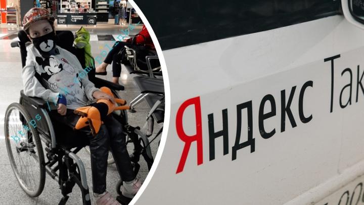 В Москве таксист бесплатно отвез тобольскую девочку со СМА из аэропорта в больницу