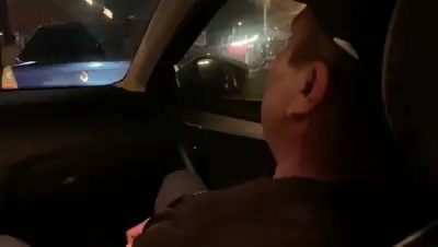 Задержание водителя, сбившего пастуха на коне, попало на видео
