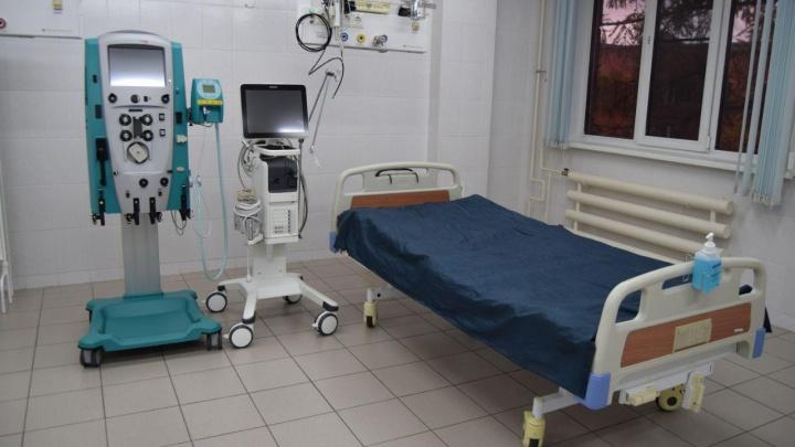 Кемеровская больница купила два аппарата для гемодиализа. На них потратили почти 4 млн рублей