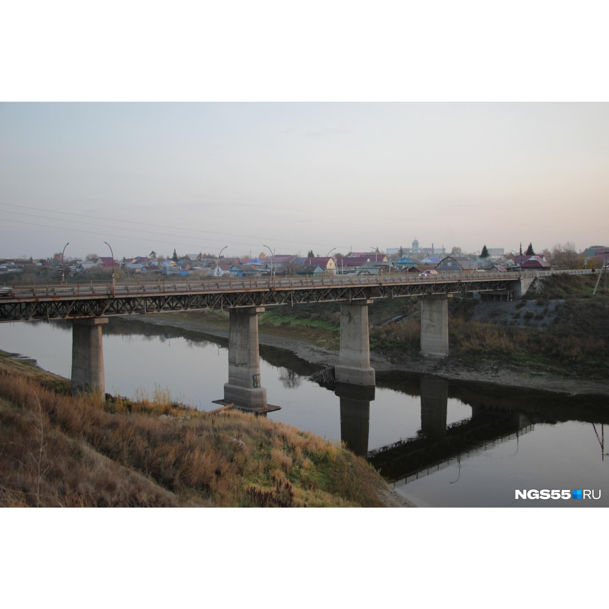 Мост через Омь