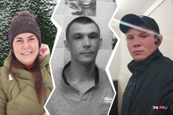 Денис (на фото в центре), который стал жертвой ревнивого коллеги Елены