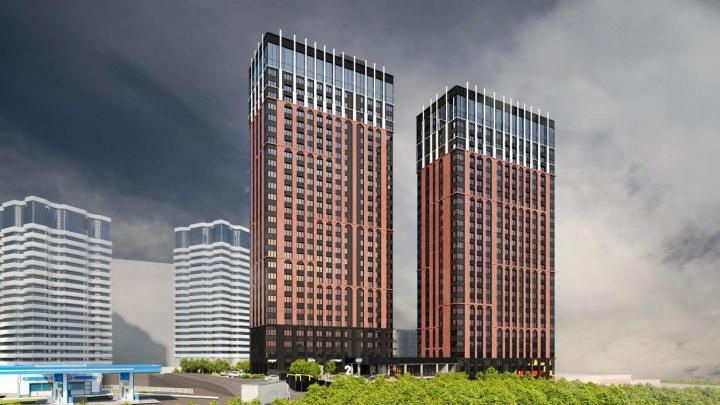 Возле «Ауры» начали строить 33-этажный дом — рядом со зданием сделают фуд-корт