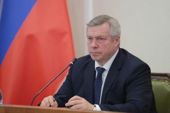 Голубев ввел в Ростовской области самоизоляцию, как в Москве