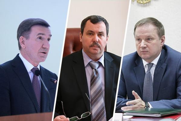 Игорь Гуськов, Сергей Бондарев и Вадим Артемов (слева направо) за год заработали больше своих коллег