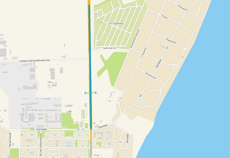 Ремонт проведут на участке Советского шоссе в районе ОбьГЭС