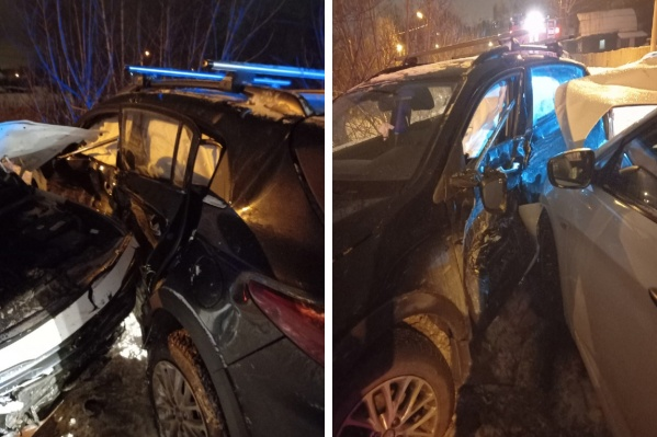 Авария произошла вечером 25 декабря