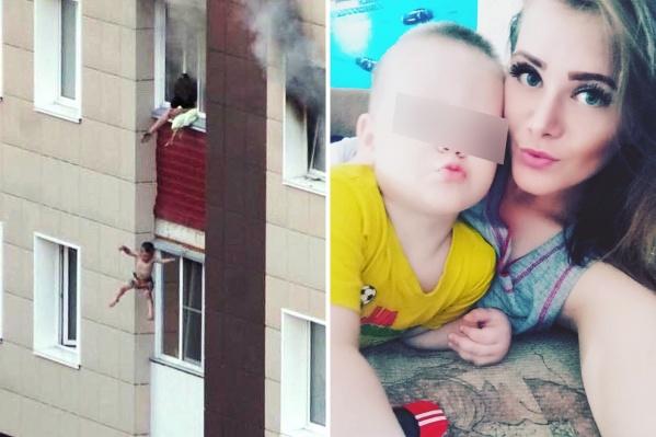 Мать двоих детей рассказала, что спала в тот момент, когда начался пожар