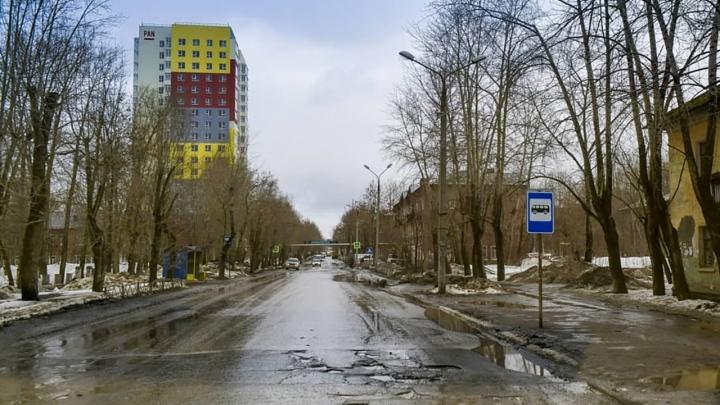 Капитальный ремонт улицы Краснополянской начнется 19 апреля