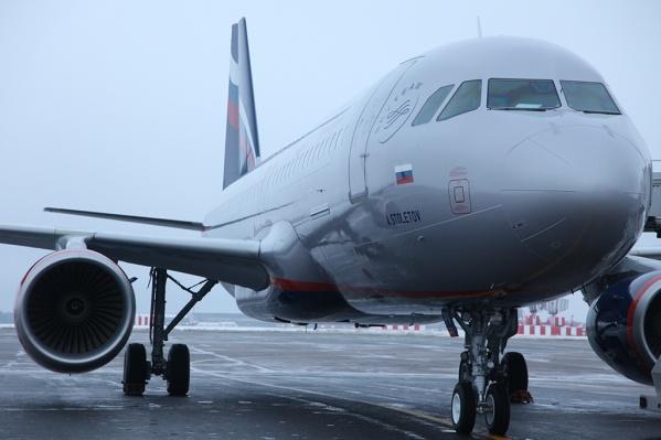 Аэробус А320 должен был отправиться из Челябинска в Москву еще в полдень, но что-то пошло не так